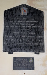 in grateful remembrance of the following men