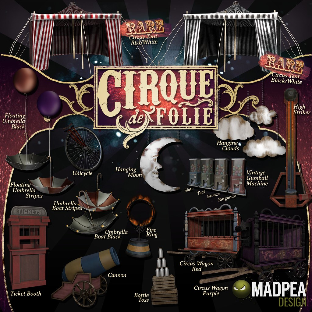 Cirque de Folie Coming Soon To IMAGINARIUM - SecondLifeHub.com
