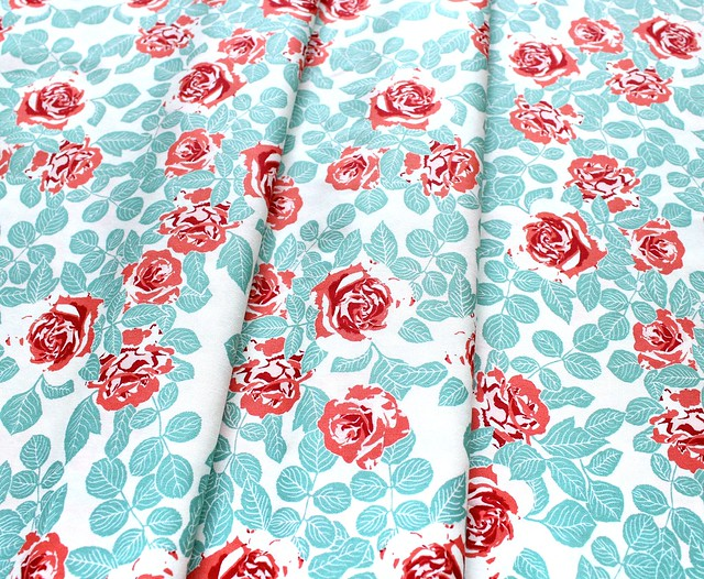 Art Gallery Fabrics Woodlands Fusion Pruning Roses Woodlands