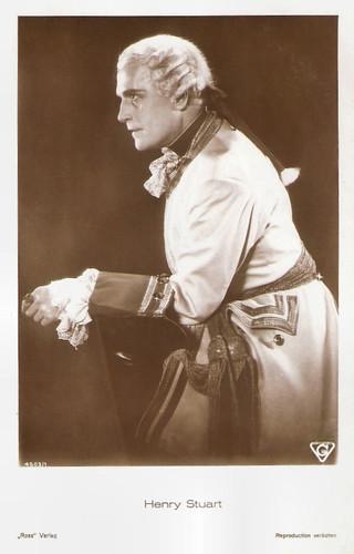 Henry Stuart in Der Günstling von Schönbrunn (1929)