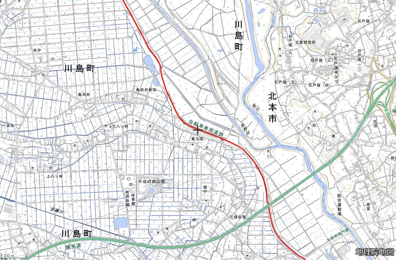9.太郎右衛門橋-比企道分岐
