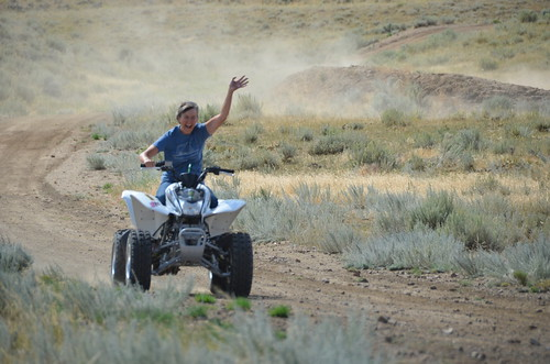 Cody Linda on ATV