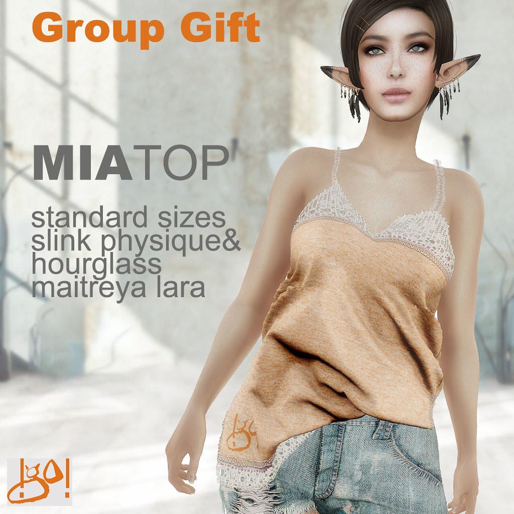 !gO! Mia top - gift group - SecondLifeHub.com