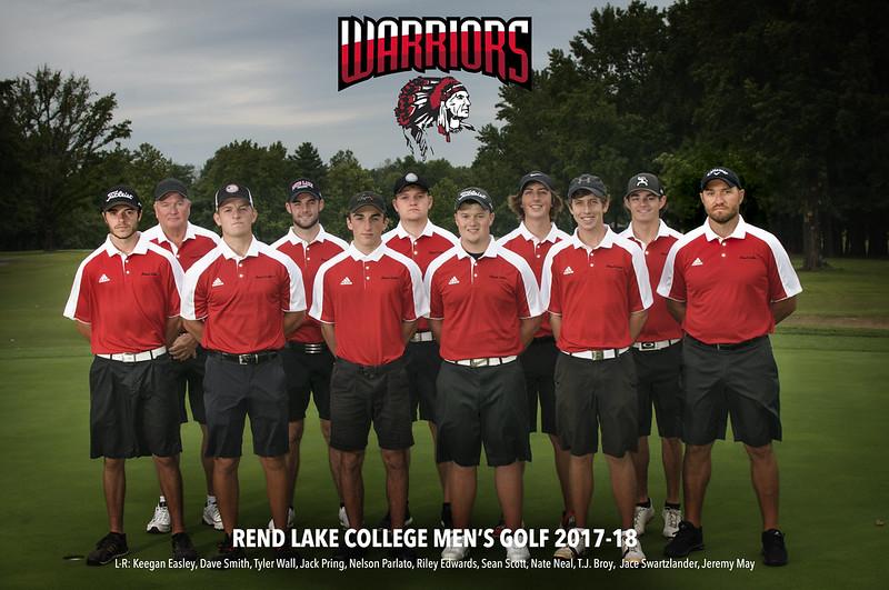 Rend Lake College Men's Golf 2017-2018