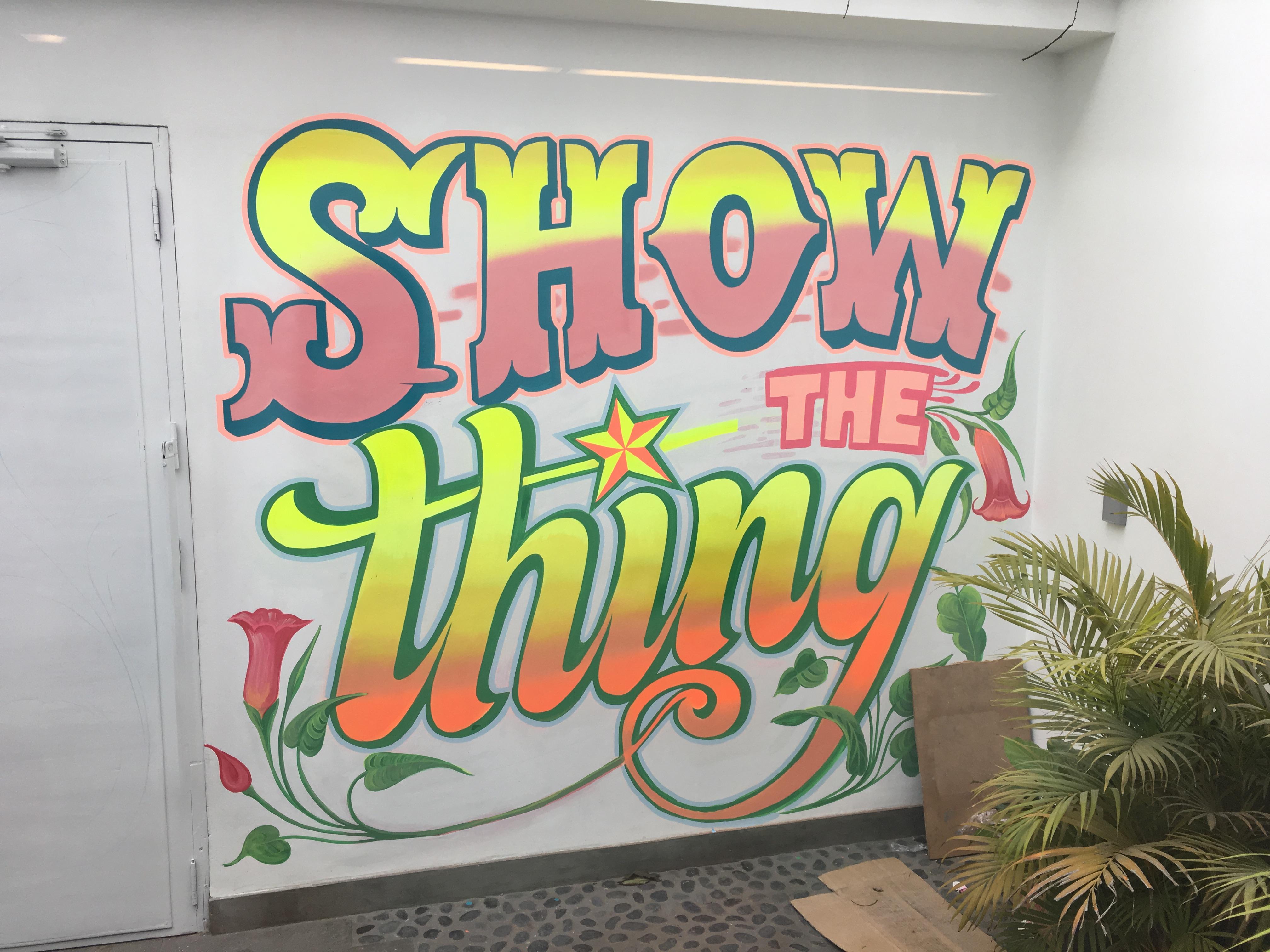 Show the thing - Peru