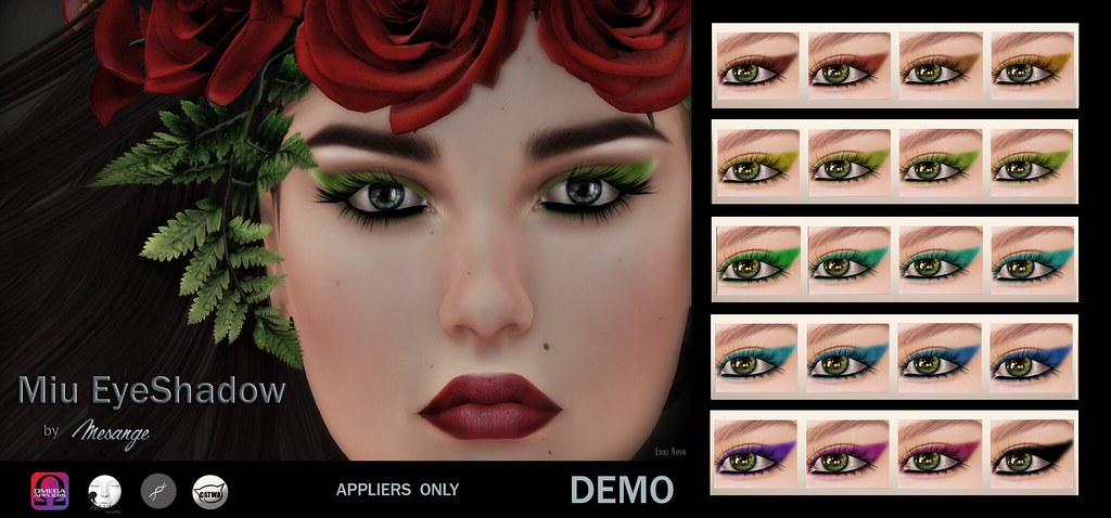 MESANGE - Miu EyeShadow for THE CHAPTER FOUR - SecondLifeHub.com