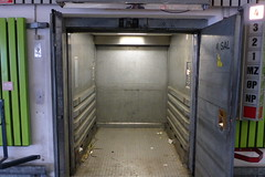 Siemens Freight elevator in abandoned post office
