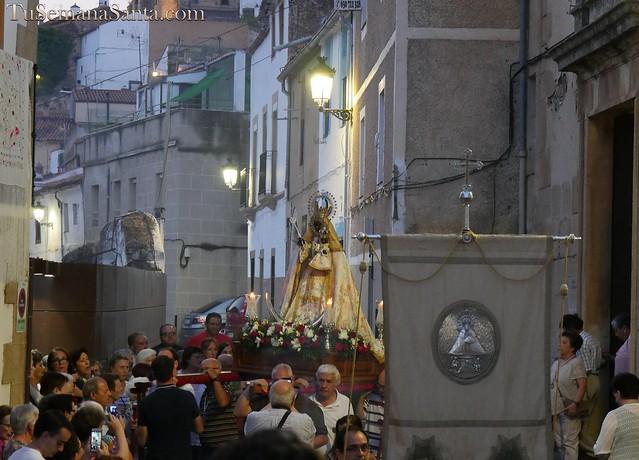 Procesión de la Virgen de Guadalupe