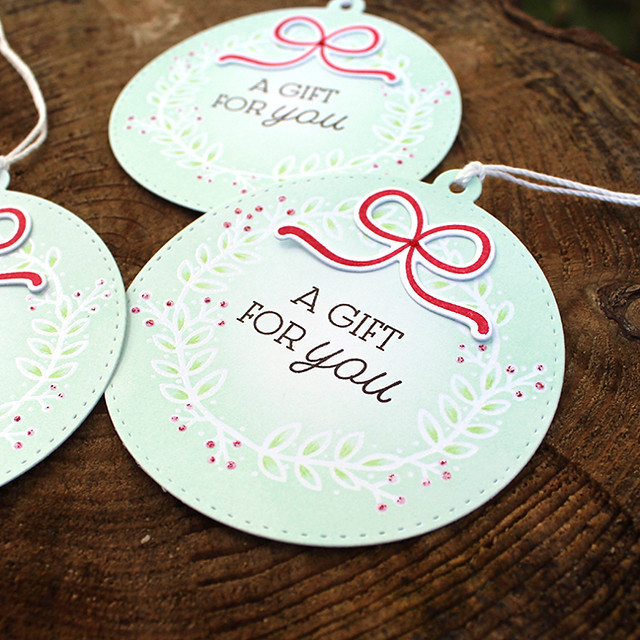 Wreath Gift Tags 3