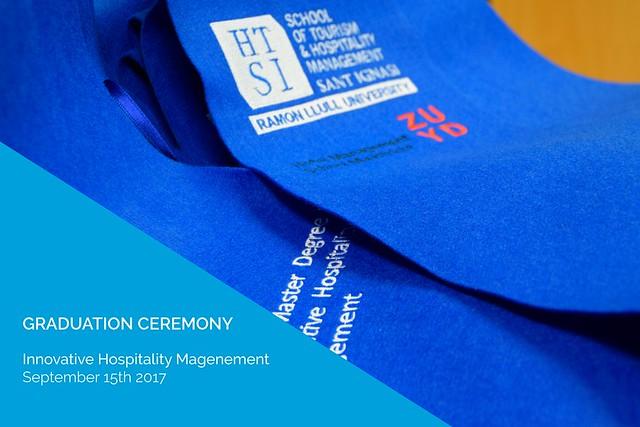 Graduation Ceremony - Innovative Hospitality Management