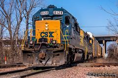 CSX 8128 | EMD SD40-2 | CN Fulton Subdivision