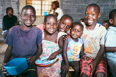 138 Children re-enrolled at Kampala 'Hope Center' primary school after summer break; story of a rescued orphan girl