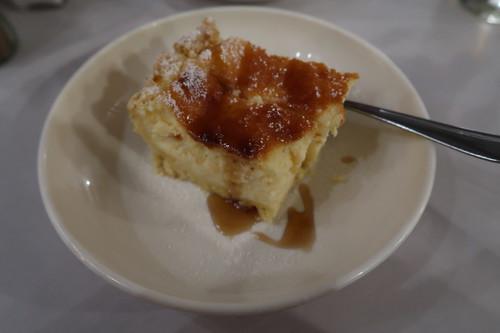 Sernik (= Käsekuchen) als Nachtisch
