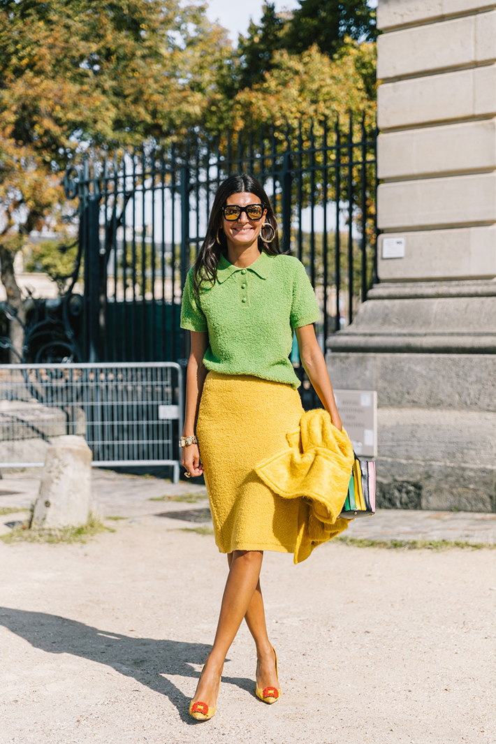 The Best Street Style From Paris Fashion Week Besugarandspice Fashion Blog