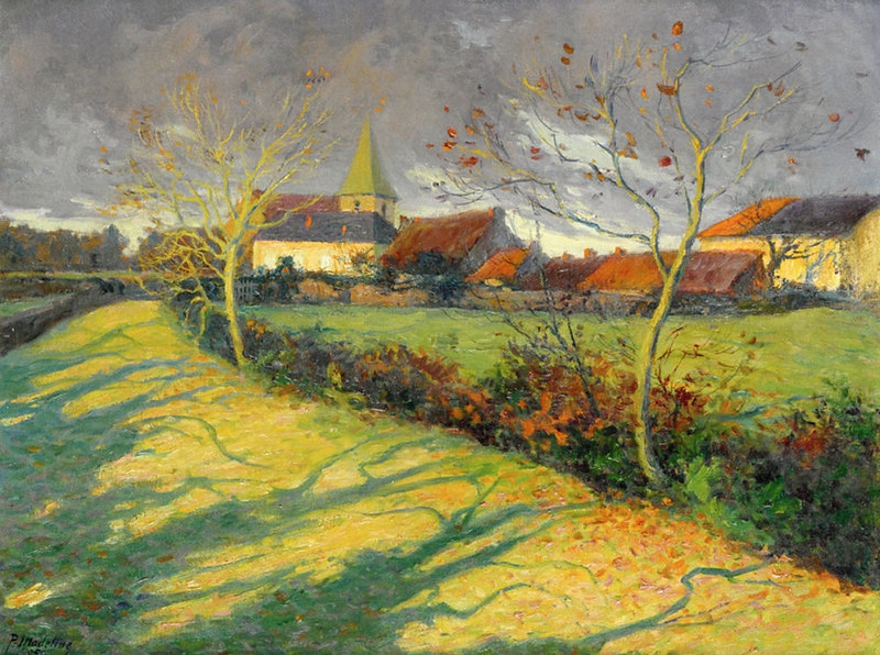 Autumn Landscape by Paul Madeline, 1905