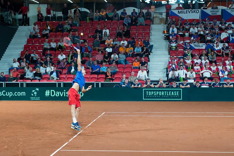 Davis Cup Tennis: Lukas Rosol (CZ)