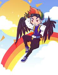 Hextian's Rainbowdash