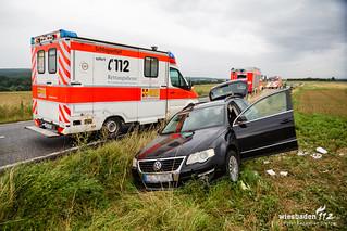 Verkehrsunfall L3028 Breckenheim-Medenbach 11.08.17