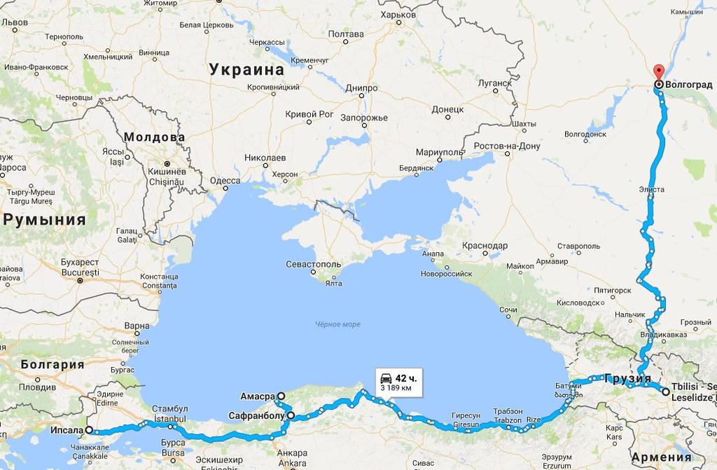 Добраться до Греции или 9783 километра за 29 дней. Сафранблоу. Возвращение.