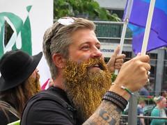 Golden Glitter Beard
