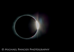 Diamond Ring Effect - Total Solar Eclipse 2017