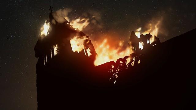 Colonne di terra di Ken Follett - Burning Cathedral