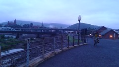Cumberland, MD in a misty dawn