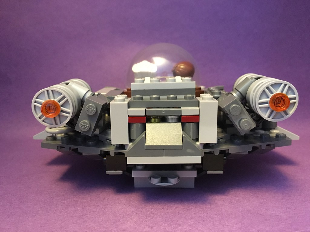 Rick And Morty Spaceship Moc Back View Vruit Salad Flickr