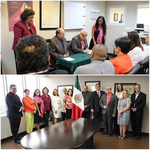 Consulado General de México firma el Arreglo que establece una Alianza con la Administración de Se