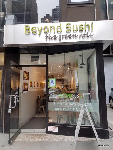 Beyond Sushi storefront