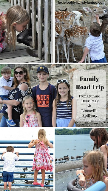 Family Road Trip to Pymatuning Deer Park & The Linesville Spillway #Travel #Pennsylvania