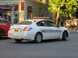 Columbia University Public Safety Nissan Altima