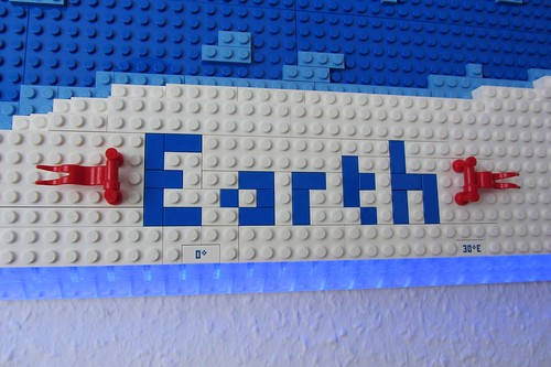 dirks LEGO world map 19 decoration earth