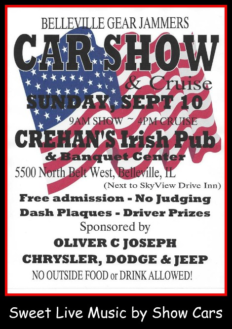 Gear Jammers Car Show 9-10-17