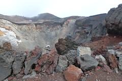 The hole of Mt.Fuji