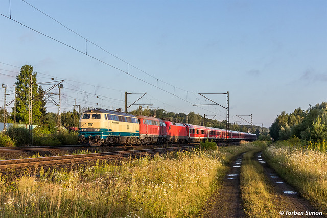 DB Westfrankenbahn 218 460-4, Canon EOS 7D MARK II, Sigma 24-105mm f/4 DG OS HSM | A
