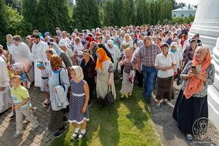 Литургия в Хутынском монастыре 570