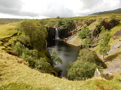 Old quarry above Torver, 7th August, 2017