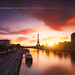 Sunrise to Grenelle at Paris ( France ) by Yannick Lefevre