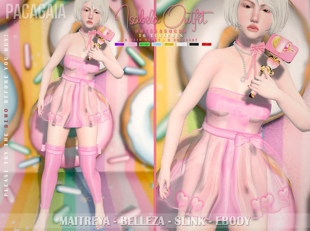 NEW!! Isabela Outfit ❤ - SecondLifeHub.com
