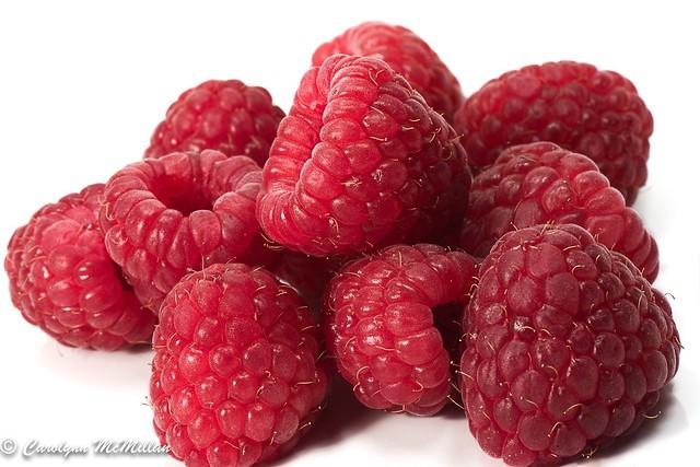 Raspberries- High Key- Macro Mondays Explored
