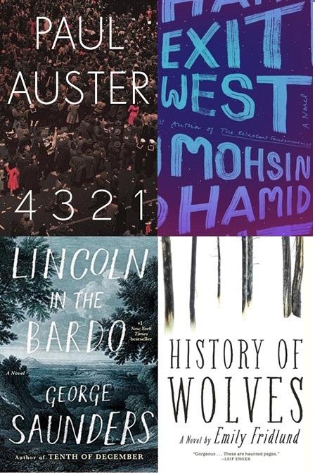 Công bố các tác phẩm lọt vào vòng chung khảo Man Booker 2017