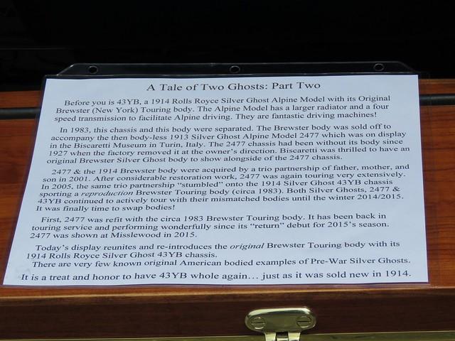 1914 Rolls Royce Info