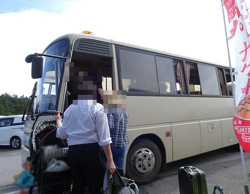 王ヶ頭ホテルから松本駅へのバス