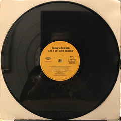 JAMES BROWN:CAN'T GET ANY HARDER(RECORD SIDE-A)