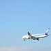 ANA B787 JA825A Going to Land at Haneda Airport 7