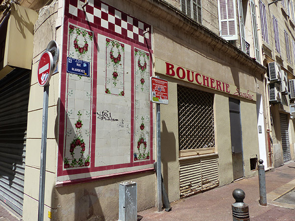 vieille boucherie rue Glandèves