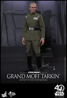 帝國萬歲!!Hot Toys – MMS433 – 星際大戰四部曲:曙光乍現【塔金總督】Grand Moff Tarkin 1/6 比例人偶作品
