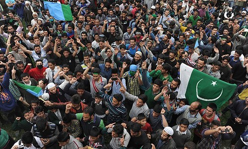 India Cannot Suppress Kashmiris' Freedom Struggle