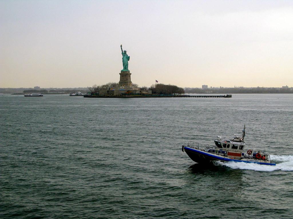 Estatua de la Libertad desde ferry